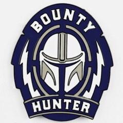Bounty Hunter Large Pin - The Mandalorian