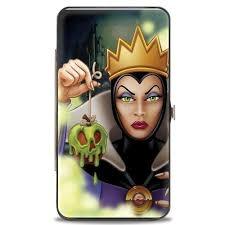 Hinged Wallet - Evil Queen - Apple