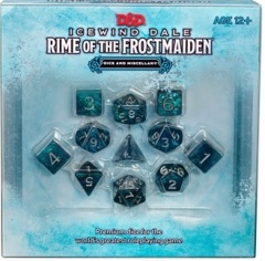 Icewind Dale  - Rime of the Frostmaiden dice set