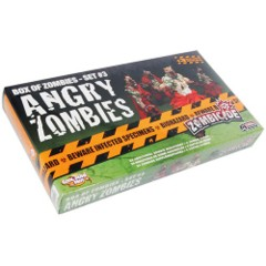 Box of Zombies - Angry Zombies (Zombicide) - Set #3