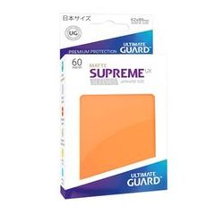 Ultimate Guard-Supreme UX Sleeves Japanese Matte Orange 60ct