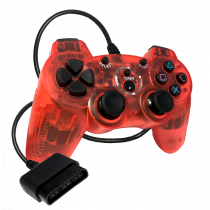 PS2 Double-Shock 2 Red