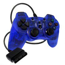 PS2 Double-Shock 2 Blue