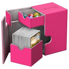 Pink Flip'n'Tray Xenoskin Deck Box 100ct (Ultimate Guard)