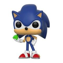 #284 - Sonic with Emerald -Sonic the Hedgehog