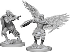 Dungeons & Dragons Nolzur`s Marvelous Unpainted Miniatures - Aasimar Fighter Male
