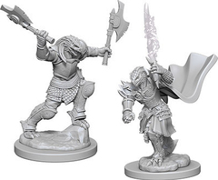 D&D - Nolzur's Marvelous Unpainted Miniatures - Dragonborn Female Fighter