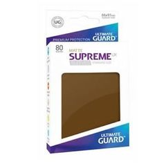 Ultimate Guard - 80 Supreme Sleeves UX Brown Matte
