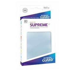 Ultimate Guard - 80 Supreme Sleeves UX Transparent Matte