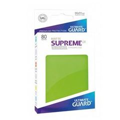 Ultimate Guard - 80 Supreme Sleeves UX Light Green Matte