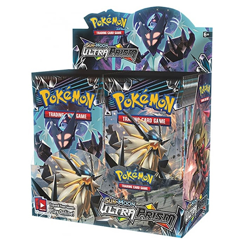 Sun & Moon 5 Ultra Prism Booster Display