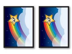Legion Card Sleeves: Rainbow Star (50)
