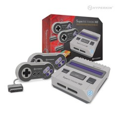 Supa Retron 1 HD Gaming Console for SNES (Grey) - Hyperkin