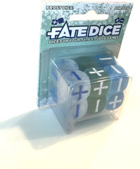 Fate Dice: Frosted