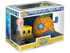 Spongebob with Gary and Pineapple House