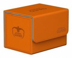 Sidewinder Deck Case 100ct  Xenoskin - Orange (Ultimate Guard)