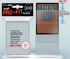 Ultra Pro - 100 ct PRO-Fit Small Top Load Deck Protectors