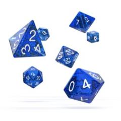 Oakie Doakie Dice - RPG- Speckled Blue