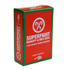 Superfight: Naughty & Nice Deck