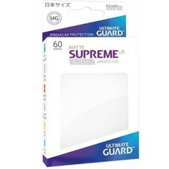 Ultimate Guard 60 Supreme Sleeves Small UX Matte White