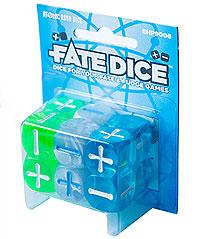 Fate Dice: Atomic Robo Dice