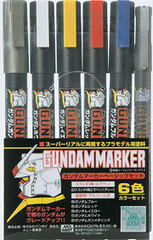 Gundam Marker: Basic 6 Color Set