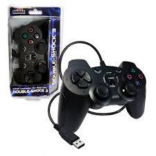 Playstation 3 (PS3): Double Shock Controller - Wired