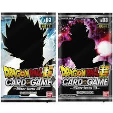 Dragon Ball Super - Cross Worlds - Series 3 Booster Pack