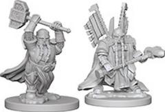 D&D - Nolzur's Marvelous Unpainted Miniatures - Dwarf Paladin Male