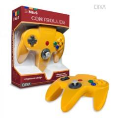 Cirka Yellow Controller (Nintendo 64 N64)