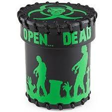 Dice Cup: Zombie - Black Leather