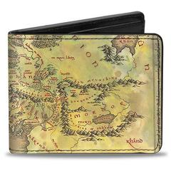 Lord of the Rings: Bi-Fold Wallet - Map
