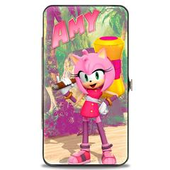 Hinged Wallet - Sonic the Hedgehog - Amy