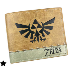 2 Tone Wallet: Zelda Logo