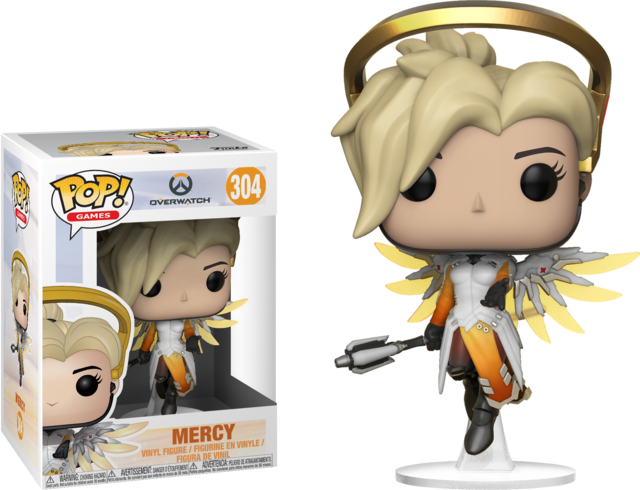 304 overwatch mercy toys collectables funko funko pop