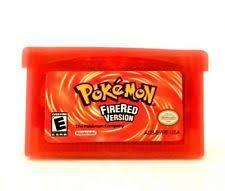 Pokemon: Fire Red - REPRODUCTION