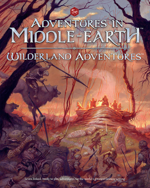 Adventures in Middle Earth: Wilderland Adventures - Books » Role