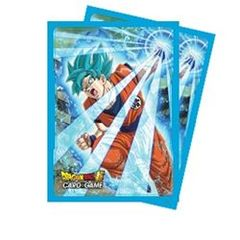 Dragon Ball Super Goku Blue - Sleeves 65ct