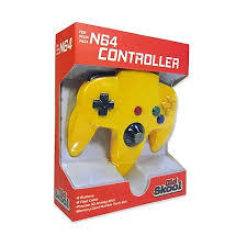 Old Skool - N64 Controller - Yellow