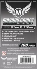Magnum Platinum Sleeves French Tarot: 61mm x 112mm (100)