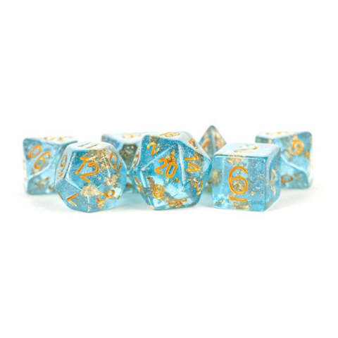 7 Count 16mm - Blue with Gold Foil