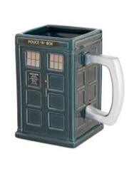 Doctor Who - Sculpted Ceramic Mug - Tardis