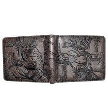 Bi Fold Wallet - Dragon Ball - SS Goku - Dark Brown
