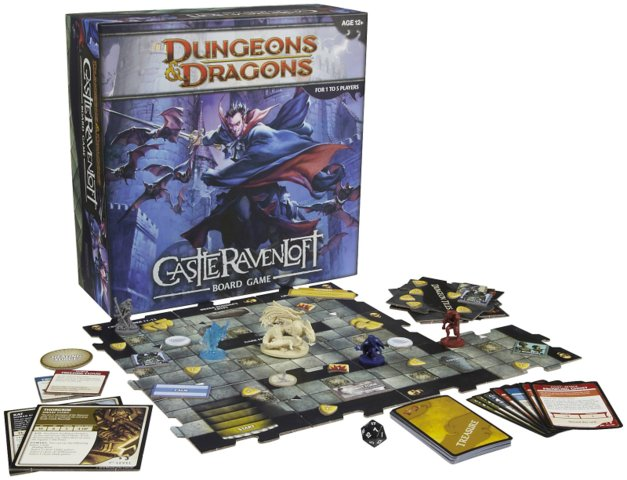 Dungeons /& Dragons Castle Ravenloft Board Game