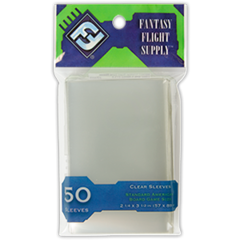 Board Game Clear Sleeves Standard American (Fantasy Flight) (In Store Sales Only)