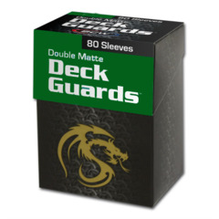 Green - Deck Guard Double Matte Sleeves (BCW)