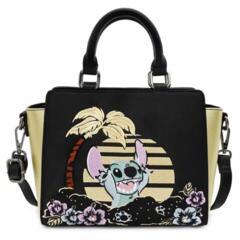 Loungefly Disney Lilo And Stitch Satin Stitch Cross Body Bag