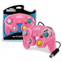 Old Skool Special Edition Pink/Red - Wii/Gamecube Controller