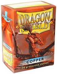 Copper - Standard Boxed Sleeves (Dragon Shield) - 100 ct
