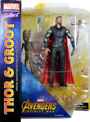 Avengers Infinity War - Thor and Groot